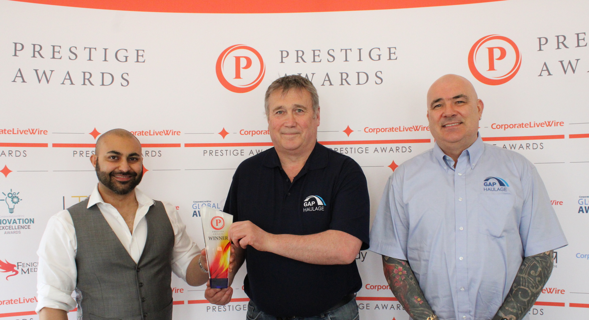 Prestige Awards North of England 2021 - Best in Haulage
