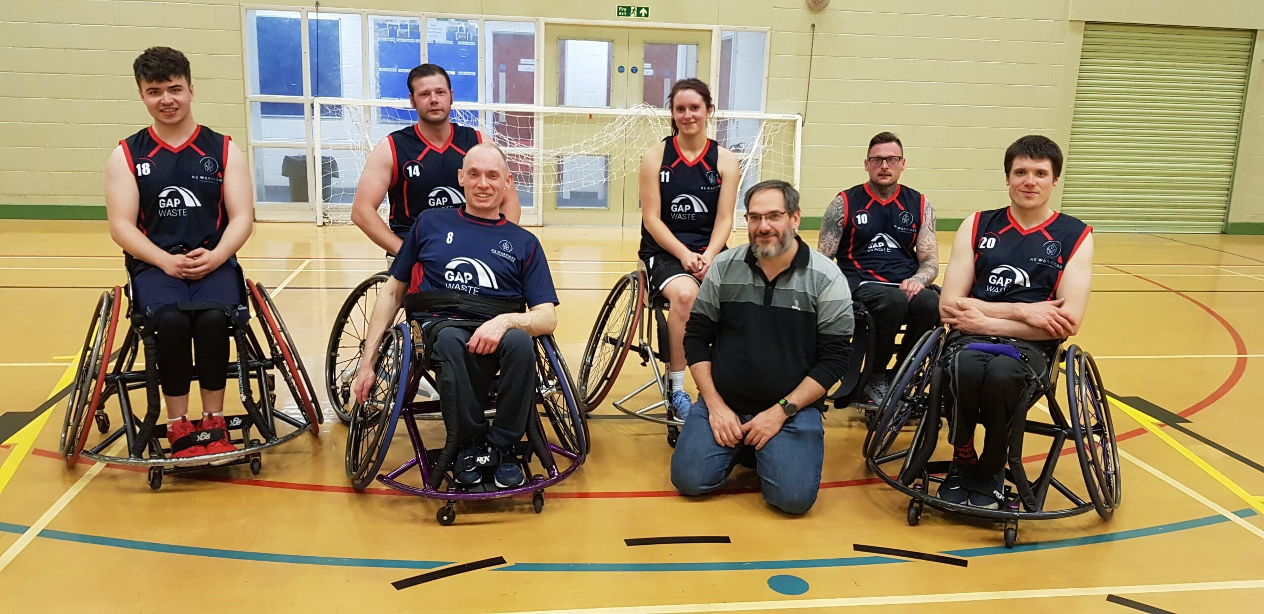 NEW Wheelchair Team photo